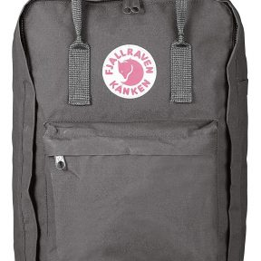 Τσάντα Πλάτης Fjallraven Kanken 17″ Super Grey 27173-046