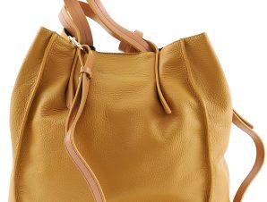 Τσάντα Ώμου Manila Grace Borsa Doris Vertical B096LU-MD873