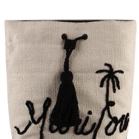 Τσάντα Θαλάσσης Marilou Tote BG039606 (A)-ECRU/BLACK
