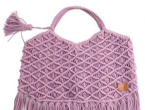 Τσάντα Ώμου Marilou Πλεκτή Με Κρόσσια BDS-1471-E