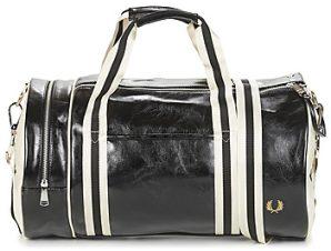 Αθλητική τσάντα Fred Perry CLASSIC BARREL BAG Εξωτερική σύνθεση : Συνθετικό & Εσωτερική σύνθεση : Συνθετικό