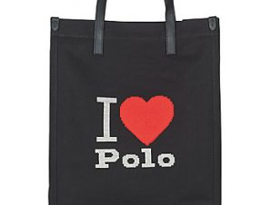 Shopping bag Polo Ralph Lauren I HRT POLO CVS/LTHR