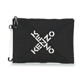 Pouch/Clutch Kenzo KENZO ACTIVE LARGE CLUTCH Εξωτερική σύνθεση : Ύφασμα & Εσωτερική σύνθεση :