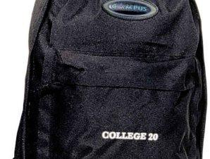 Σακίδιο Πλάτης 20lt College Μαύρο Campus 810-2060-14