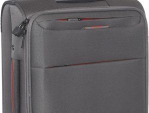 Βαλιτσα Καμπινας με 4 Ροδες Diplomat ZC6040-55 Γκρι