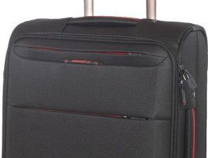 Βαλιτσα Καμπινας με 4 Ροδες Diplomat ZC6040-55 Μαυρο