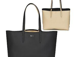 Shopping bag Lacoste ANNA Εξωτερική σύνθεση : Συνθετικό & Εσωτερική σύνθεση : Ύφασμα