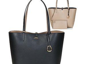 Shopping bag Lauren Ralph Lauren MERRIMACK REVERSIBLE TOTE MEDIUM Εξωτερική σύνθεση : Συνθετικό & Εσωτερική σύνθεση : Ύφασμα
